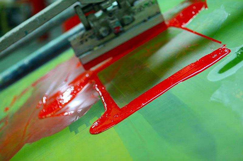 Small automatic screen printing print Keith N Company